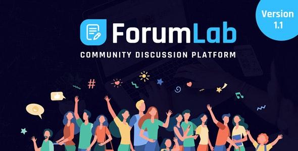 ForumLab - Community Discussion Platform - CodeCanyon Item for Sale