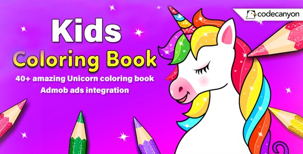 Android Kids Coloring Book - Coloring Book for Girls & Boys (Android 11)