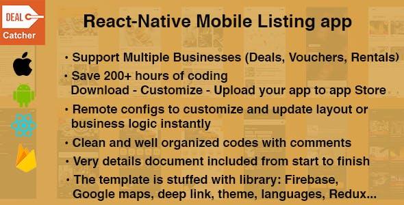 Deal Catcher - Listing template for deals, vouchers,...