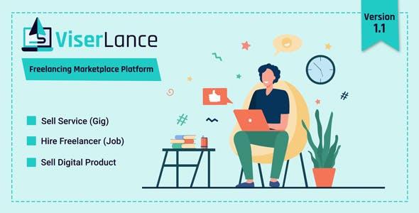ViserLance - Freelancing Marketplace Platform