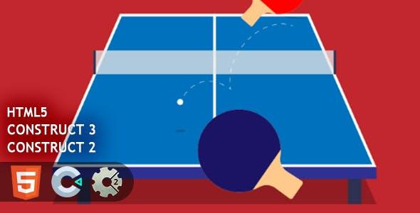 Ping Pong HTML5 Construct 2/3