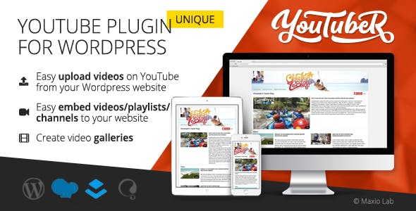 YouTubeR - Unique YouTube Video Feed & Gallery Plugin