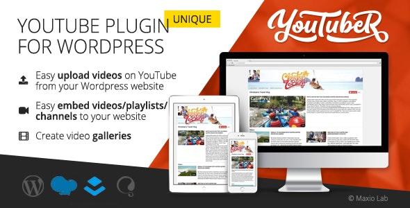 YouTubeR - Unique YouTube Video Feed & Gallery Plugin - CodeCanyon Item for Sale