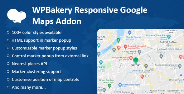 WPBakery Responsive Google Maps Addon