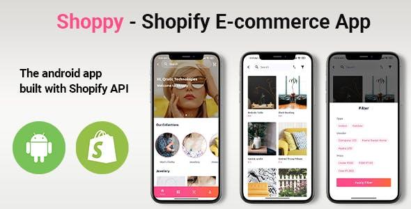 Shoppy - Shopify E-commerce Android Kotlin App