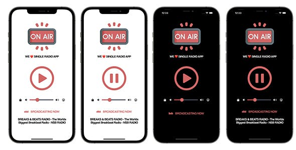 On Air Single Radio App | SwiftUI Full iOS Application