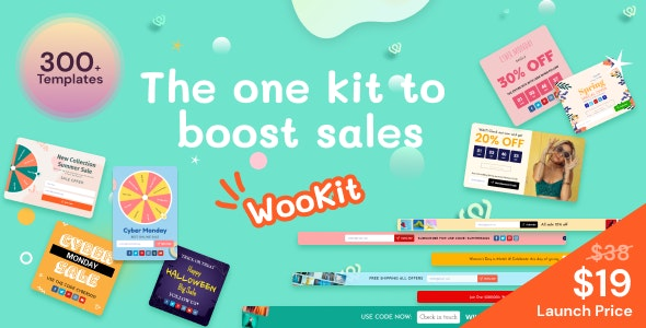 Wookit Email Popups, Cart Abandonment - CodeCanyon Item for Sale