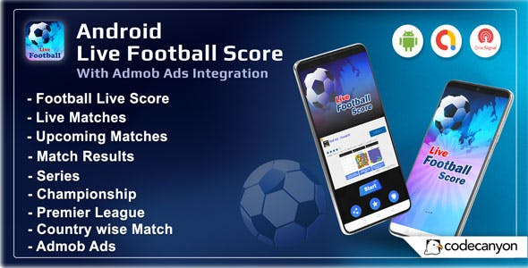 Android Football Live Score - Soccer Live Score 2021 (Android 11)