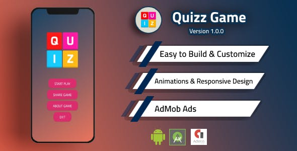 Quizz Game with Admob