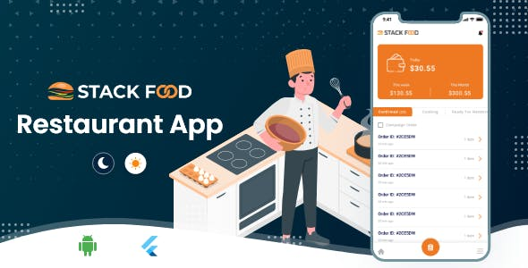 StackFood Multi Restaurant - Food Ordering Restaurant App V1.0