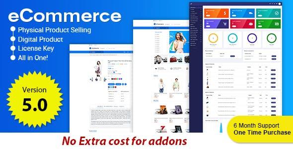 eCommerce - Responsive Ecommerce Business Management System