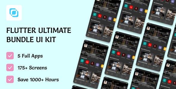 Flutima | Flutter UI Ultimate Bundle Kit