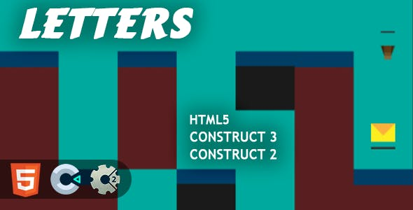 Letters Collector HTML5 Construct 2/3 Game