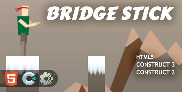 Bridge Stick HTML5 Construct 2/3 Game