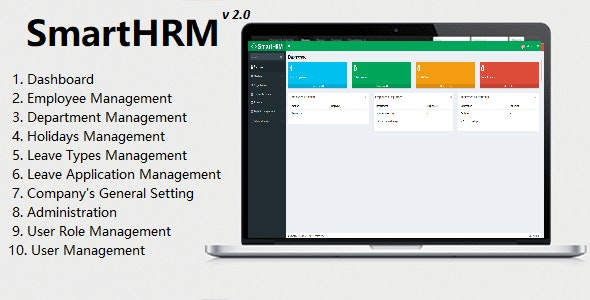 SmartHRM - Human Resource Management System - CodeCanyon Item for Sale