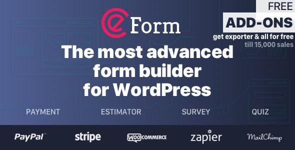 eForm v4.17.0 – WordPress Form Builder
