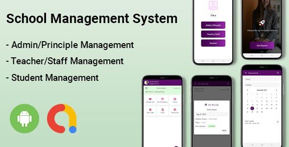 School Management Kotlin Android App