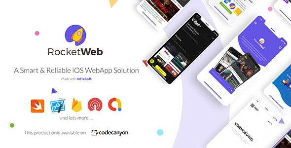 RocketWeb | Configurable iOS WebView App Template