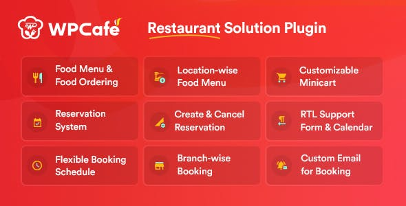 Restaurant Reservation, Food Menu & Food Ordering for WooCommerce