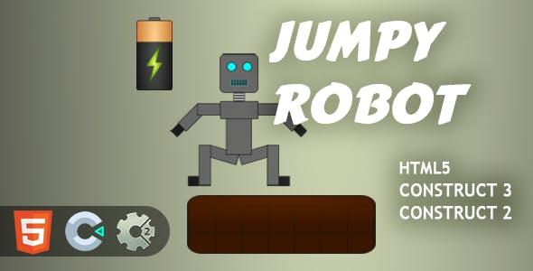Jumpy Robot HTML5 Construct 2/3 Game