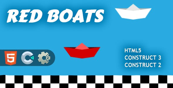 Red Boats HTML5 Construct 2/3 Game