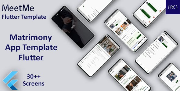 Matrimony Android App + Matrimony iOS App Template| Match Making App | Flutter | MeetMe