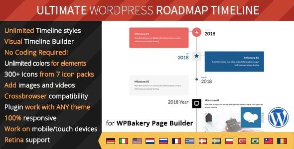 Ultimate Roadmap Timeline – Responsive WordPress Timeline plugin