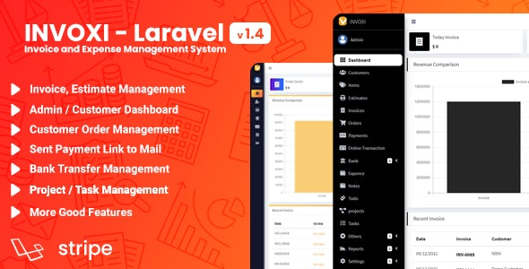 INVOXI - Laravel Invoice and Expense Management System - CodeCanyon Item for Sale