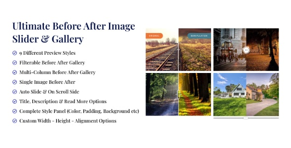 Ultimate Before After Image Slider & Gallery - CodeCanyon Item for Sale