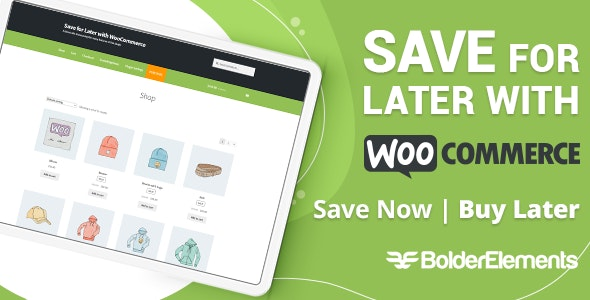 Save for Later with WooCommerce - CodeCanyon Item for Sale