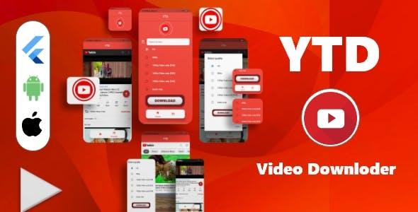 YTD- Flutter YT Video Downloder with Admov