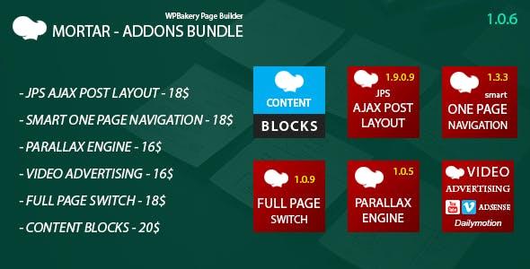 Mortar - WPBakery Page Builder Addons Bundle