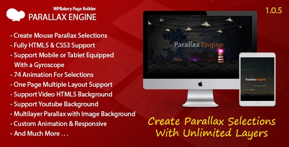 Parallax Engine - Addon For WPBakery Page Builder - CodeCanyon Item for Sale