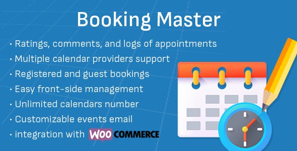 Booking Master - Appointment Booking and Scheduling
