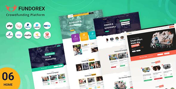 Fundorex -  Crowdfunding Platform - CodeCanyon Item for Sale