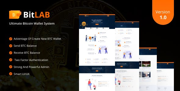 BitLab - Ultimate Bitcoin Wallet System