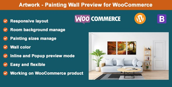 Artwork - Painting Wall Preview for WooCommerce