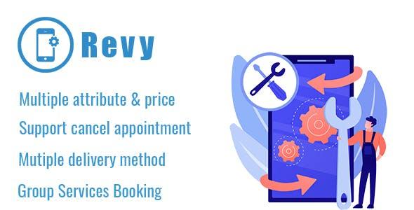 Revy - WordPress booking system for repair service industries