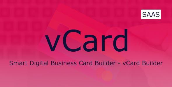 vCard - Digital Business Card Builder SaaS