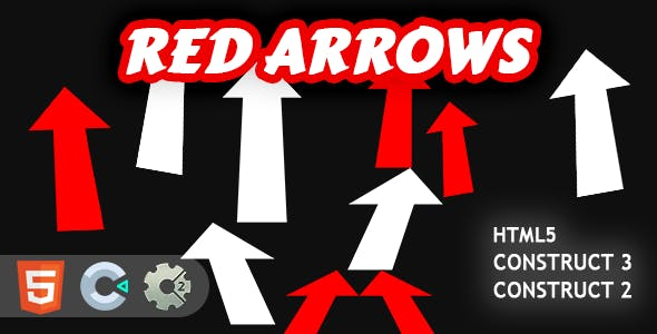 Red Arrows HTML5 Construct 2/3 Game