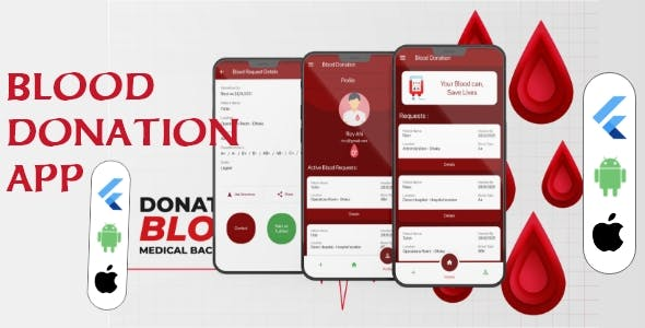 Blood Donation App Flutter With Firebase