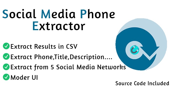 Social Media Phone Extractor Pro - CodeCanyon Item for Sale
