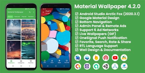 Material Wallpaper v4.2.0