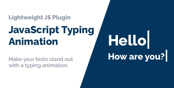 JavaScript Typing Animation