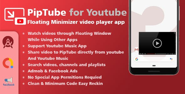 PipTube - Floating Youtube Video Player