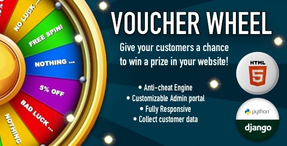 Voucher Wheel v1.0 – Engage and give prizes to your customers