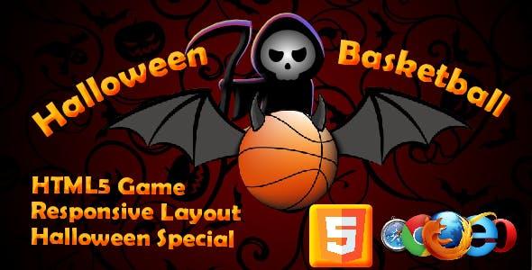 Halloween Basketball HTML5 Game