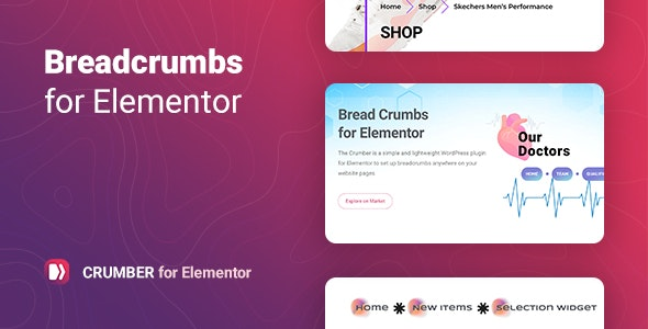 Crumber v1.0 – Breadcrumbs for Elementor