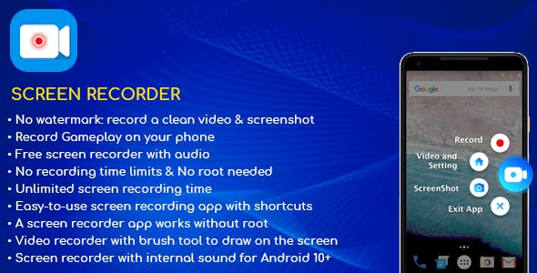 Screen Recorder Android App v1.0