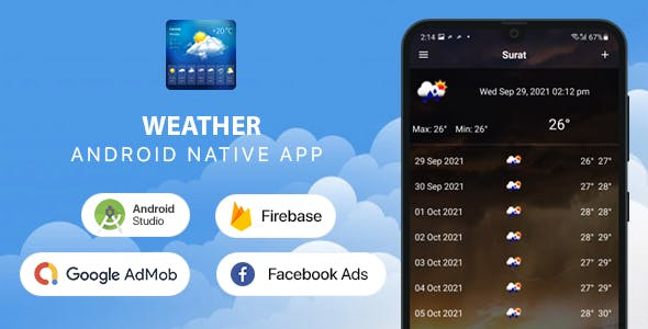Weather Forecast - Android (Kotlin)